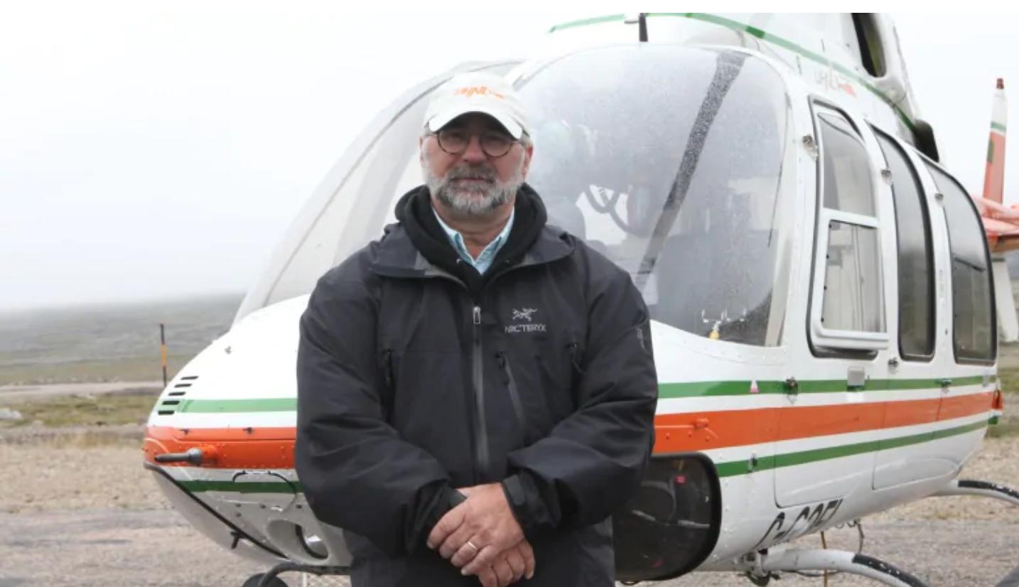 Director and Labrador Representative: Geoff Goodyear